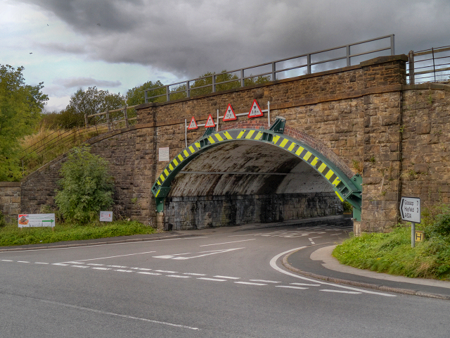 Railway Bridge over Hayfield Road