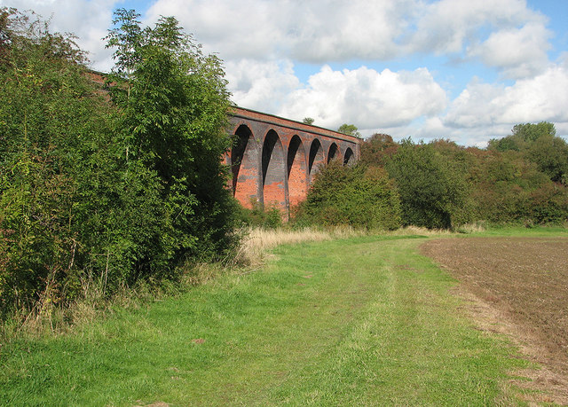 John O'Gaunt Viaduct from the south-east