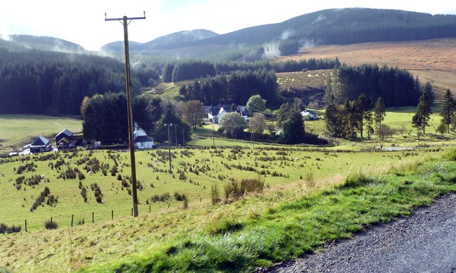 East and West Buccleuch from the road