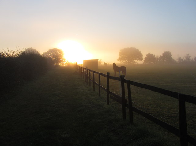 Sunrise near Stourport