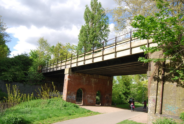 Railway Viaduct, Ladywell Fields