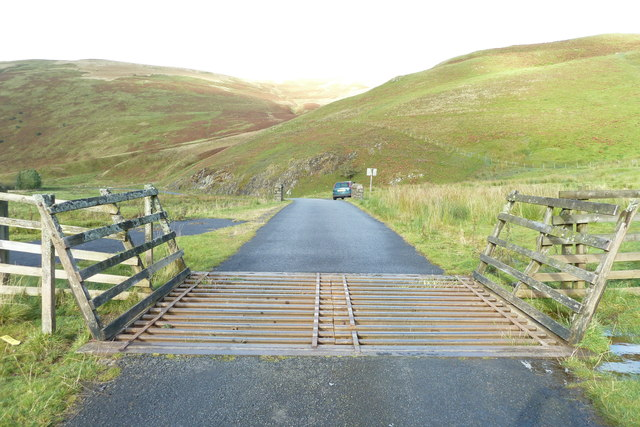 Cattle Grid on the B711