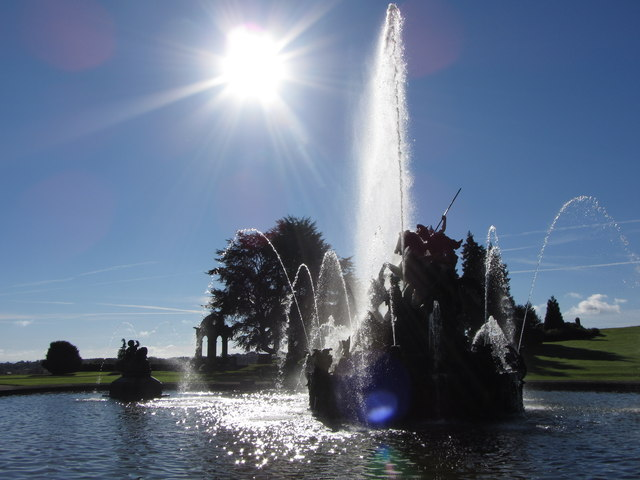 Perseus and Andromeda fountain, Witley Court