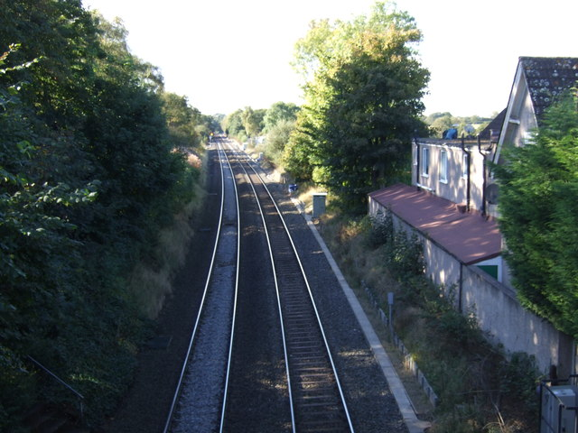 Railway towards Birmingham