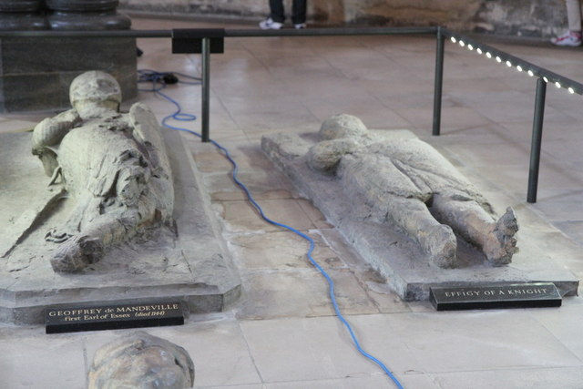 Graves of Knights Templar, Temple Church, London EC4