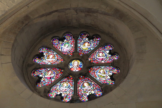 Rose Window, Temple Church, London EC4