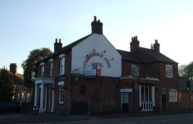 The Tweeddale Arms Hotel, Tamworth