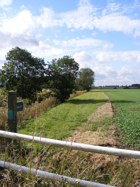 Footpath off Mill Road