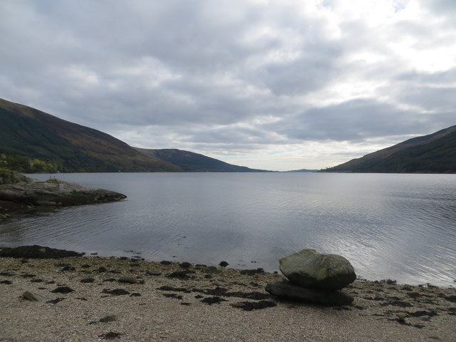 Foreshore of Loch Striven at Port na Curaich