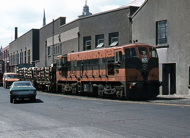 Cork City railway 1974 - 2
