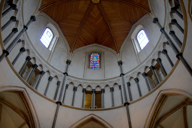 Dome, Temple Church, London EC4