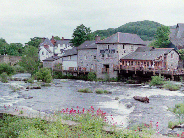 The Corn Mill at Llangollen in 2004