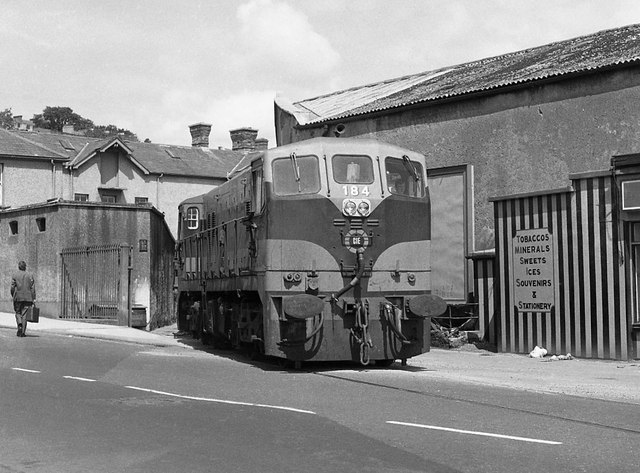 Cork City railway 1975 - 3