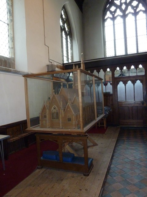 St. Thomas, Newport, IOW: model