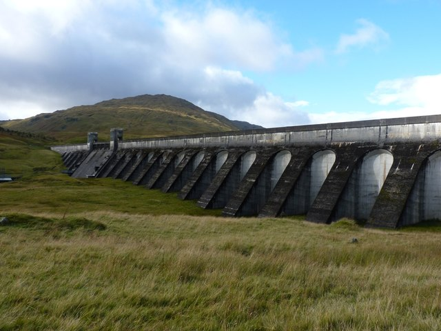 The Lubreoch Dam