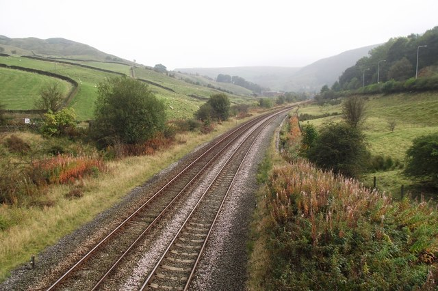 The line from Burnley to Todmorden