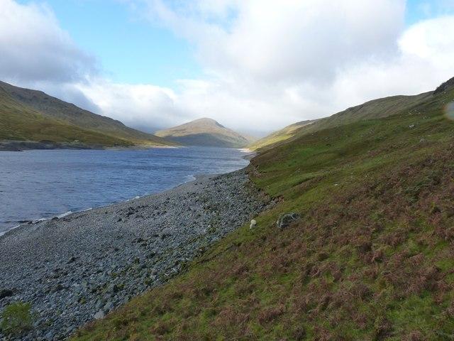 North shore of Loch Lyon