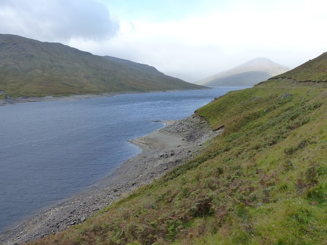 The northern shore of Loch Lyon