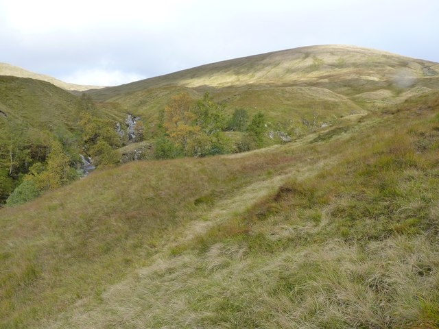 Confluence of the Eas Eoghannan and the Eas nan Aighean