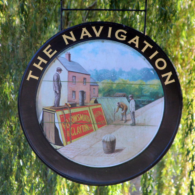 The Navigation sign