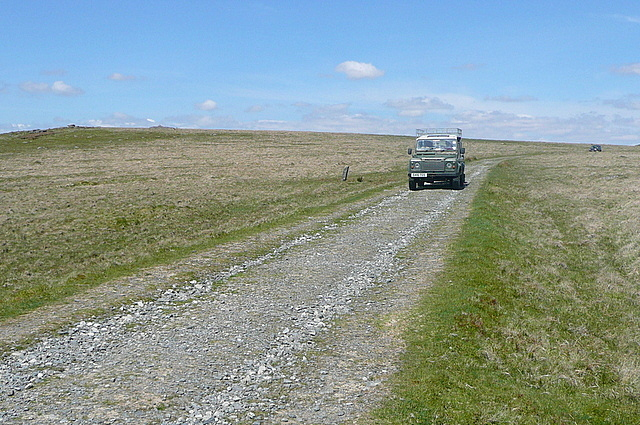 Vehicles?  On Dartmoor?