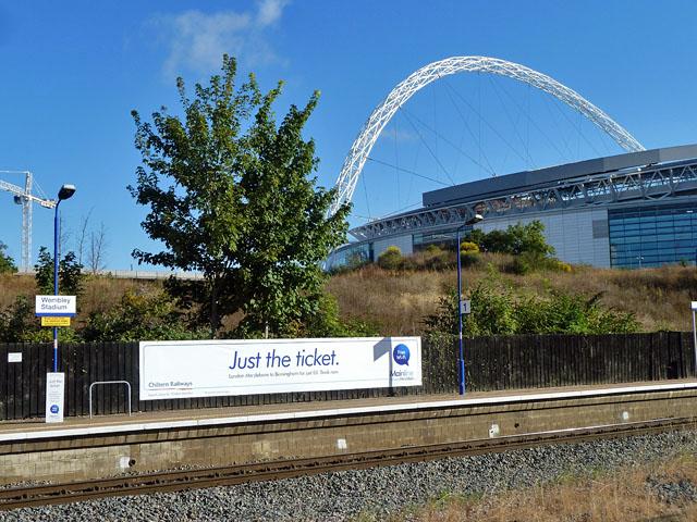 Just the ticket at Wembley Stadium