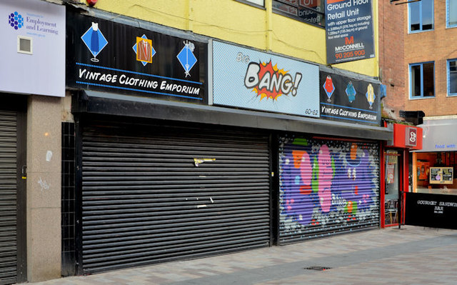 """To let"" shop, Belfast (19)"