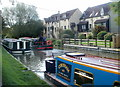 ST8260 : Canalside houses, Bradford-on-Avon by Jaggery