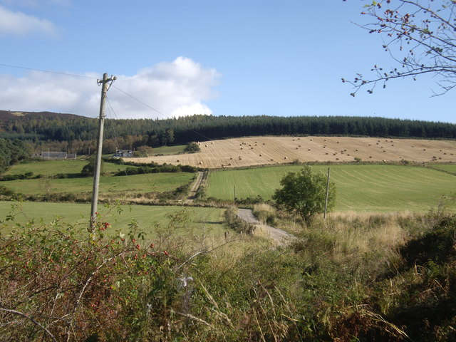 Paved lane to  Blairhead