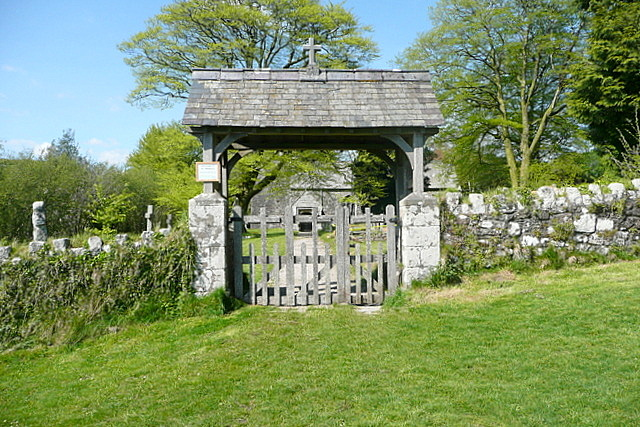 Lych gate at Harford church