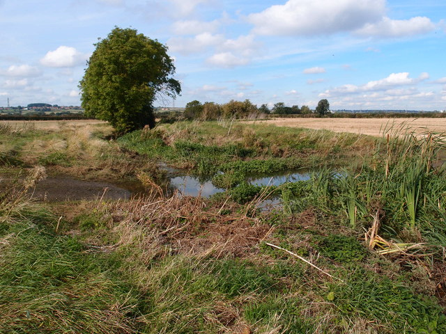 The Nene Valley near Woolaston