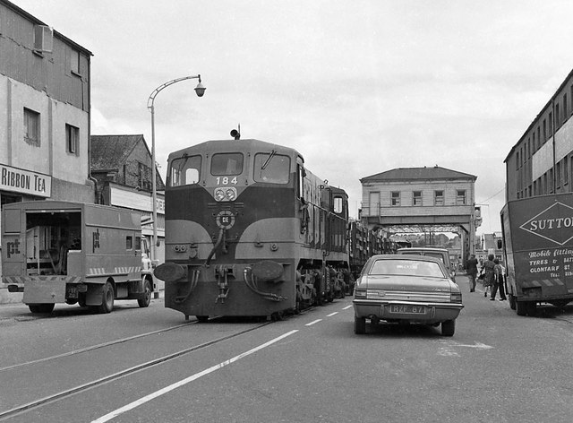 Cork City railway 1975 - 11