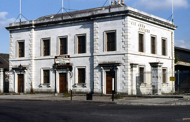 Albert Quay station building