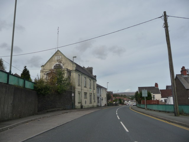 Old Police Court and Police Station in Pontlottyn