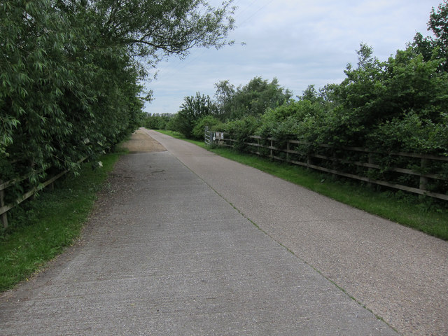 Christmas Hill Farm entrance track