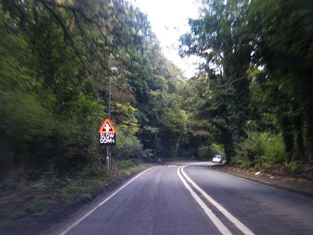 A559 near Great Budworth