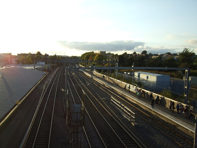 Platforms 1 and 2, Tamworth Station