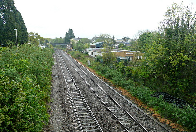 Railway looking east
