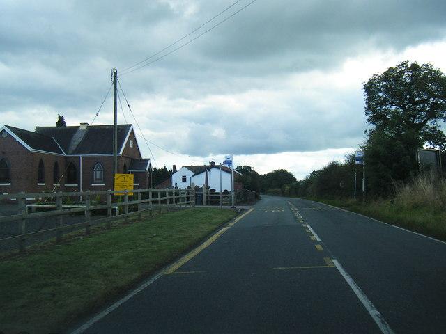 Weaver Methodist Church on Swanlow Lane
