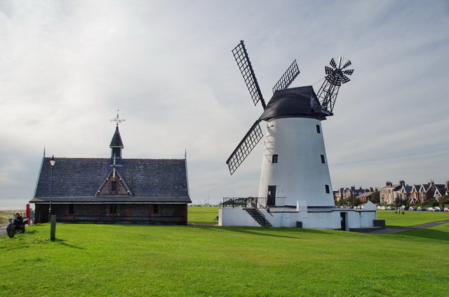 Former Lytham Lifeboat Station and Lytham Windmill