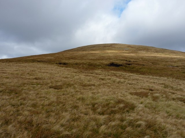 Still upwards to Meall Buidhe