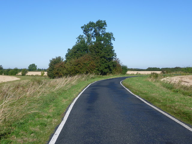 Road towards Broughton
