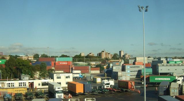 Container terminal, Birmingham