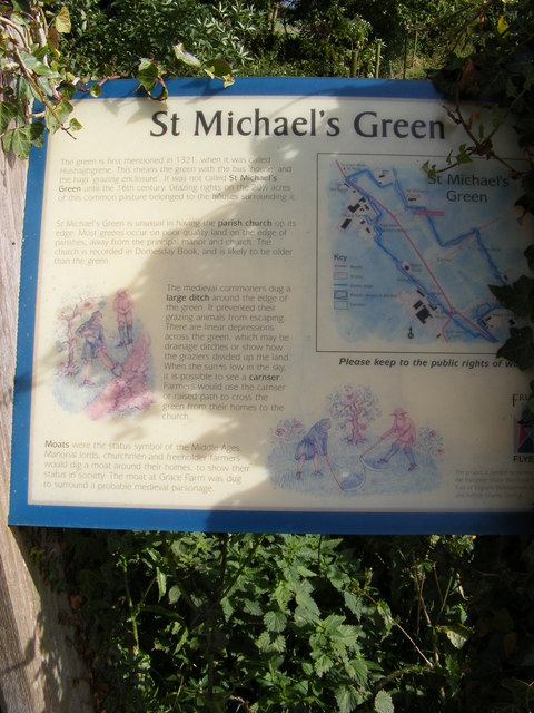St.Michael's Green Information Board