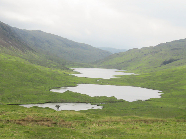 Three lochs in a row