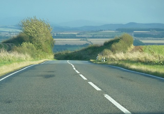 B6397 heading towards Kelso