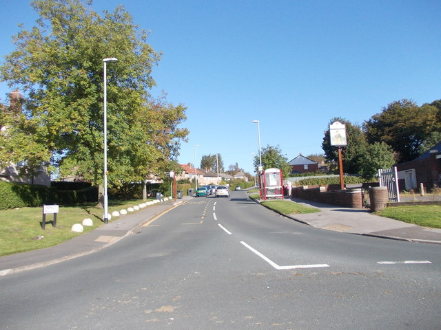 Lingfield Hill - viewed from near Lingfield Approach
