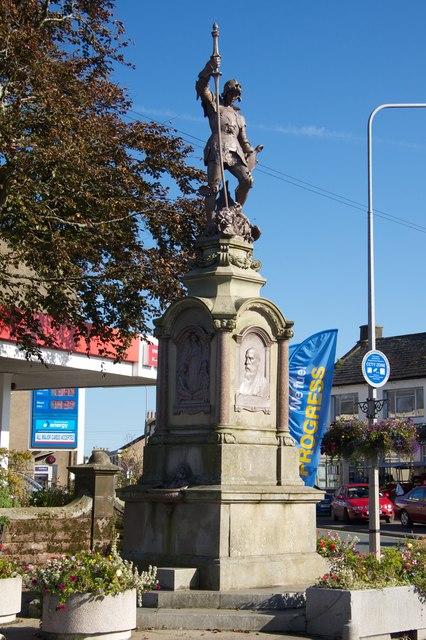 Sir Wilfrid Lawson Memorial, Aspatria