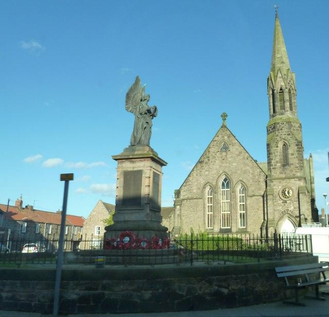 War Memorial. Castlegate