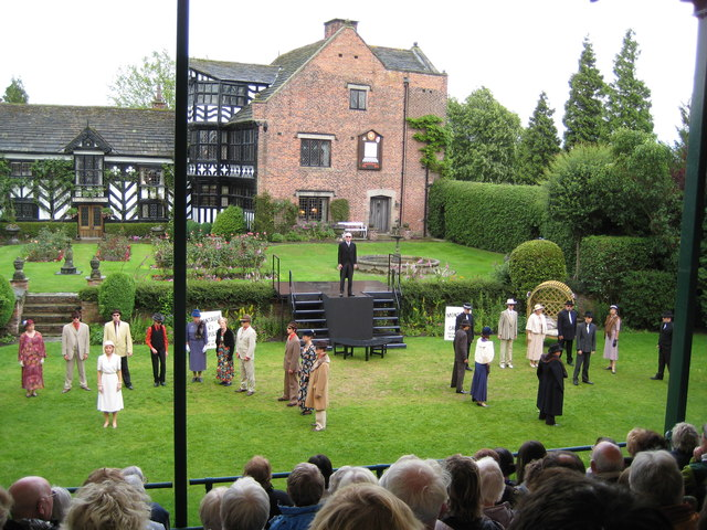 Gawsworth Hall open air theatre